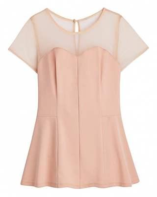 Блуза тюл