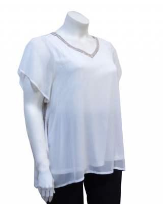 Блуза бродерия
