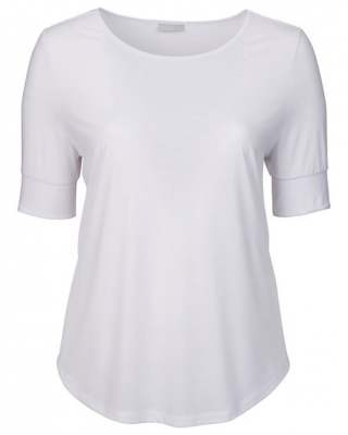 Блуза ръкав маншет бяла