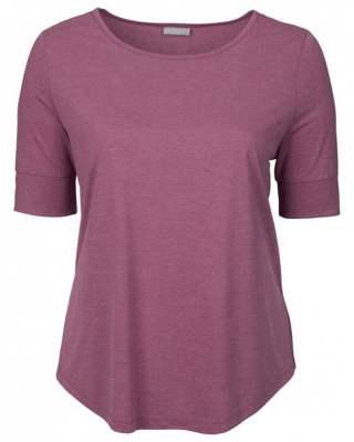 Блуза ръкав маншет лилав