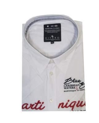 Риза Kitaro 162700 къс ръкав