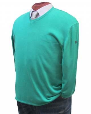 Пуловер März светлозелен