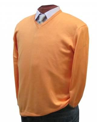 Пуловер März оранжев