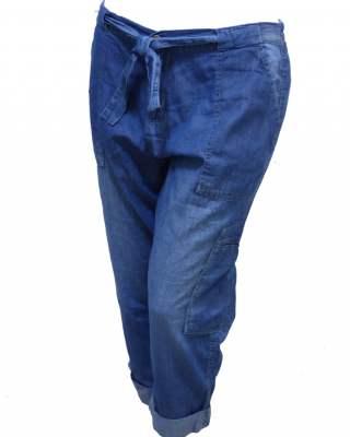 Панталон средни деним