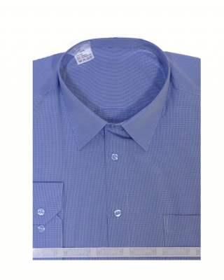 Риза дълъг ръкав пепит