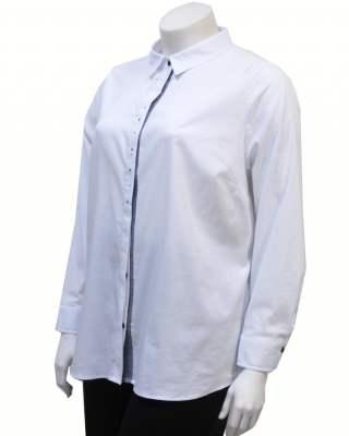 Блуза бяла с камъни