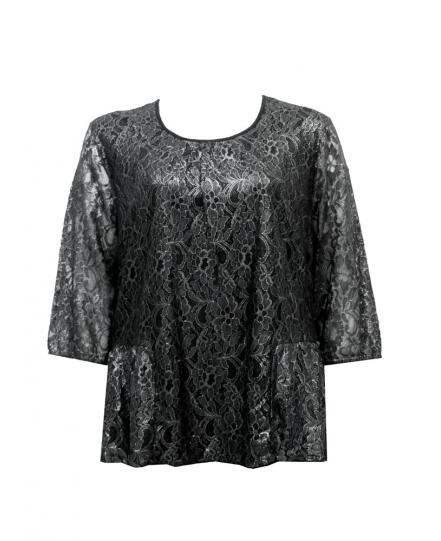 Блуза старо сребро