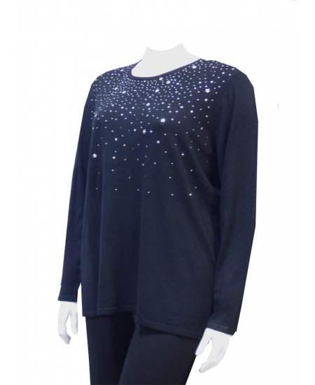 Пуловер малки звездички