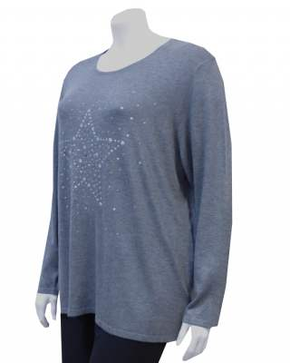 Пуловер голяма звезда