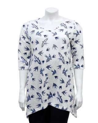 Блуза лястовица