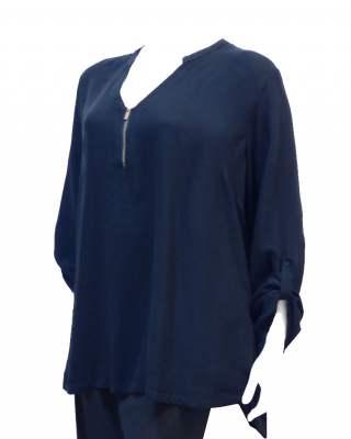 Блуза шпиц с цип