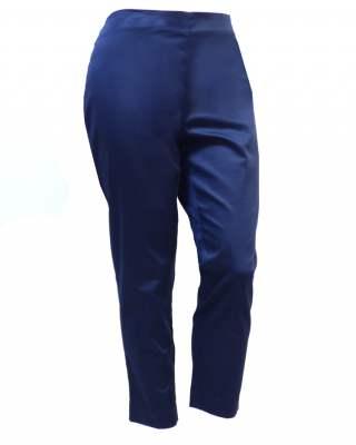 Панталон тъмносин тънък