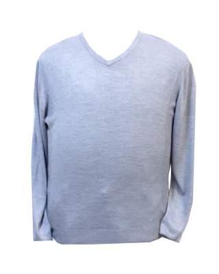 Пуловер сив
