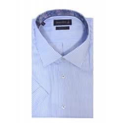 Риза Jacques britt 686242 къс ръкав