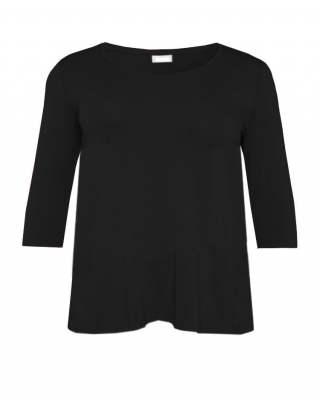 Блуза  черна по врата