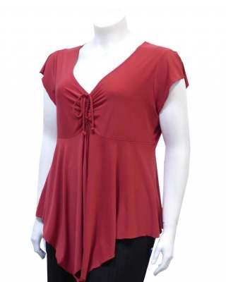 Блуза Червена връзки