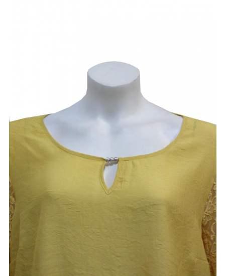 Блуза Дантела ръкави