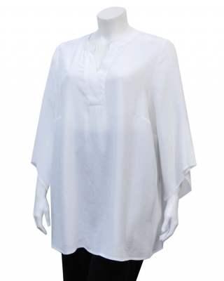 Блуза Елеганс в бяло