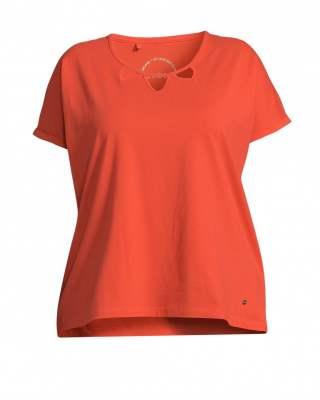 Блуза елемент в оранжево