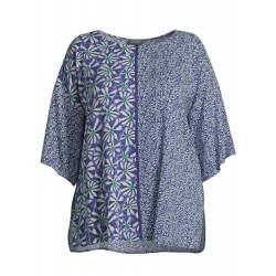 Блуза Емоция в синьо