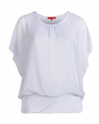 Блуза Фантазия в бяло