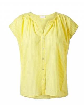 Блуза фино райе лимон