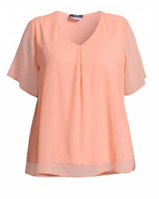 Блуза Frapp в оранжево