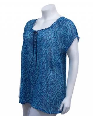 Блуза Феерия в синьо