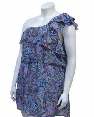 Блуза цветно лято