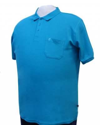 Блуза Koyote 721401 в синьо-зелено