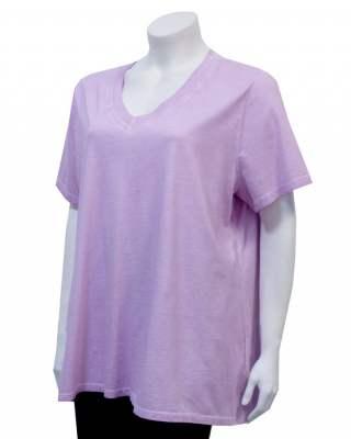 Блуза лилава шпиц