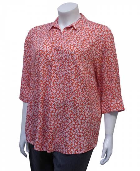 Блуза настроение с яка