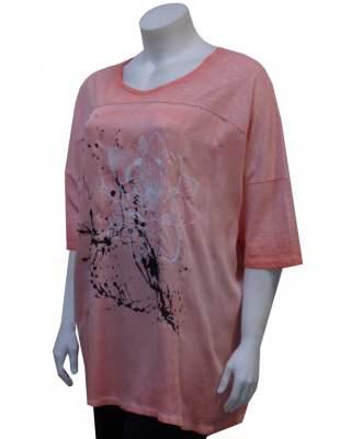 Блуза Оранжева импресия