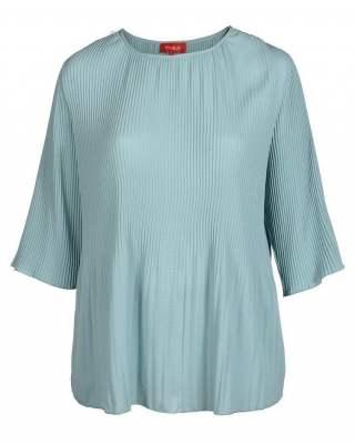 Блуза Плисе в зелено