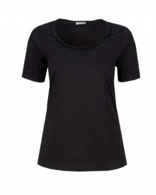 Блуза плитка в черно