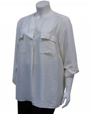 Блуза плоха джобове