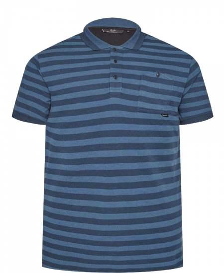 Блуза Rawcraft Classen в синьо