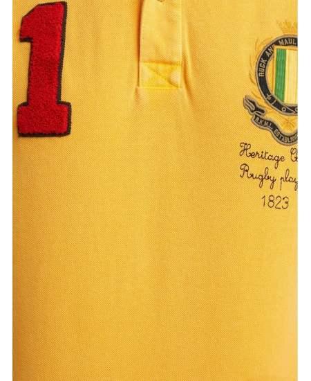 Блуза Ruck&Maul ръгби жълт