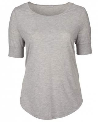 Блуза ръкав маншет сив