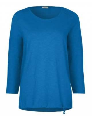Блуза Сесил в синьо