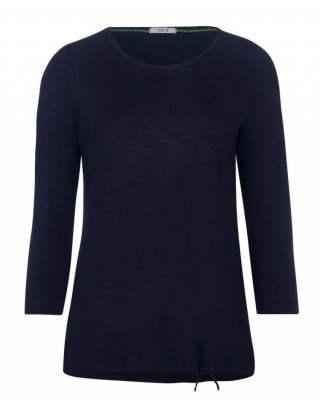 Блуза Сесил в тъмносиньо