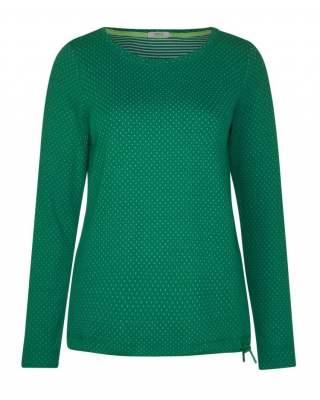 Блуза Сесил зелени точки