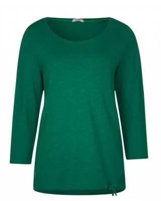 Блуза Сесил в зелено