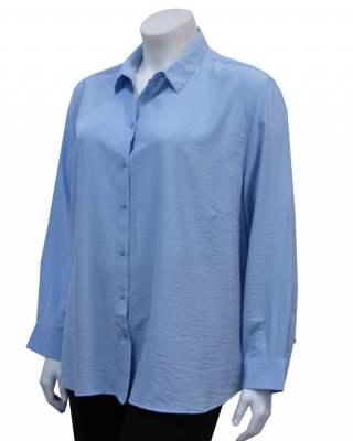 Блуза шемизета в синьо