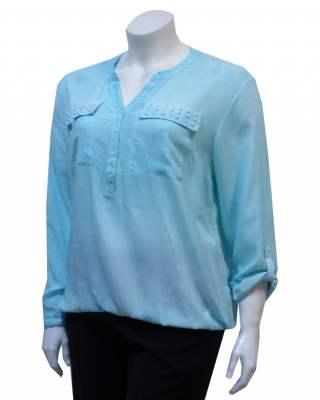 Блуза шемизета перли