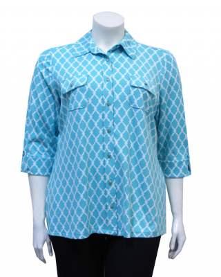 Блуза Шемизета трико