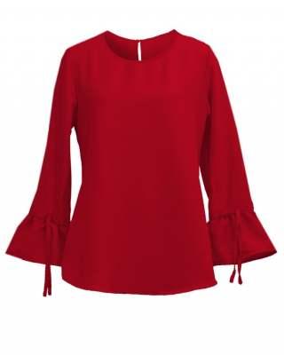 Блуза Шик в червено