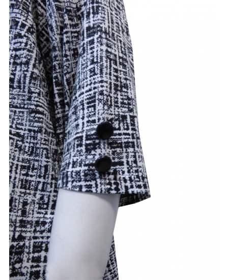 Блуза шпиц в черно