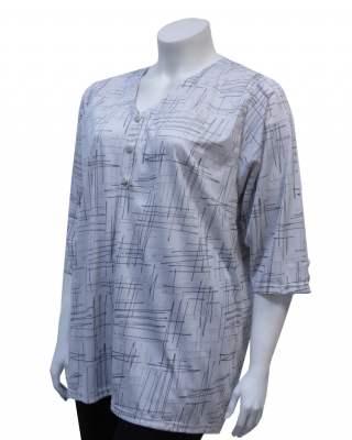 Блуза шпиц в екрю
