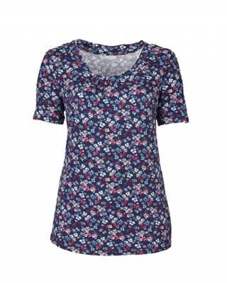 Блуза ситни цветя